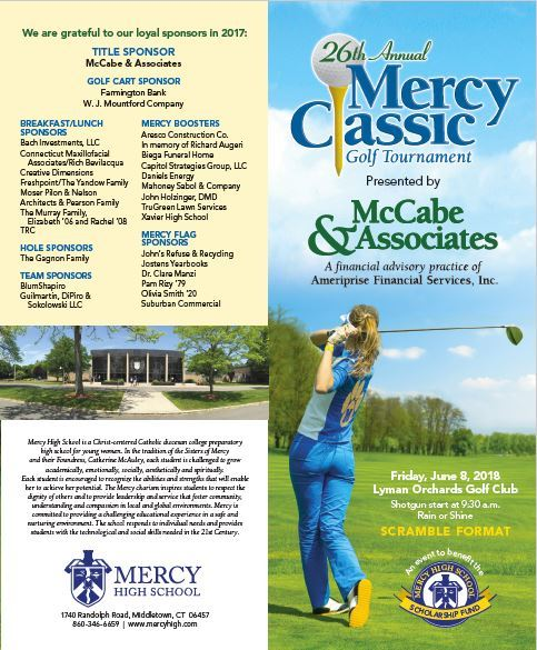 Connecticut WomenS Golf Association  Mercy Classic  Th Annual